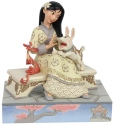 Disney Traditions by Jim Shore 6007061N White Woodland Mulan Figurine