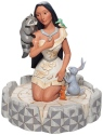 Disney Traditions by Jim Shore 6007062N White Woodland Pocahontas Figurine