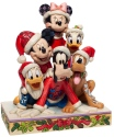 Jim Shore Disney 6007063 Christmas Mickey Figurine