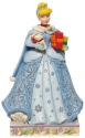 Disney Traditions by Jim Shore 6007065 Christmas Cinderella Figurine