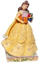 Jim Shore Disney 6007067 Christmas Belle Figurine