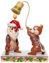 Disney Traditions by Jim Shore 6007070 Christmas Chip 'n Dale Figurine