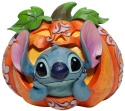 Jim Shore Disney 6007080 Stitch in Jack o' Lantern Figurine