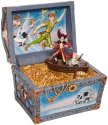 Disney Traditions by Jim Shore 6008063N Peter Pan Treasure Chest Figurine