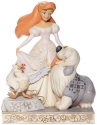 Disney Traditions by Jim Shore 6008066N White Woodland Ariel Figurine