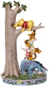 Disney Traditions by Jim Shore 6008072N Tree with Pooh & Tigger Figurine