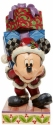 Disney Traditions by Jim Shore 6008978N Mickey with Presents Figurine