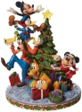 Disney Traditions by Jim Shore 6008979N Fab 5 Decorating Tree Figurine
