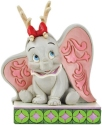 Disney Traditions by Jim Shore 6008985N Dumbo Reindeer Antlers Figurine