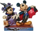 Disney Traditions by Jim Shore 6008989N Minnie Witch with Vampire Figurine