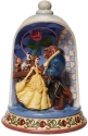 Disney Traditions by Jim Shore 6008995N Beauty and the Beast Rose Dome Figurine