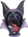 Disney Traditions by Jim Shore 6008996N Maleficent Headdress Scene Figurine