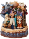 Disney Traditions by Jim Shore 6008999N Carved by Heart Aladdin Figurine