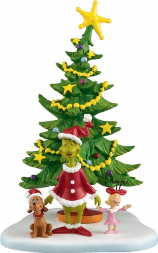 Dr. Seuss by Department 56 4024836 Welcome Christmas Christmas Day Village Figures  $36.99