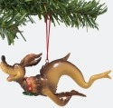 Dr Seuss by Department 56 4018181 Dog Fish Ornament