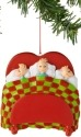 Dr Seuss by Department 56 4027396 Three Kids In Bed Ornament