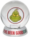 Grinch by Department 56 6009075 Grinch I've Been Goodish Waterball