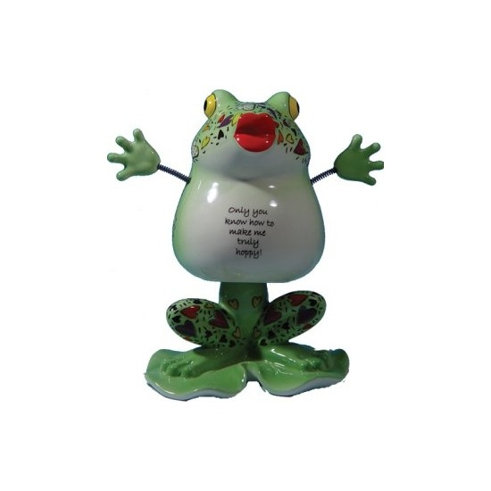 Special Sale 6343 Fanciful Frogs 6343 Horny Toad Bobble Head