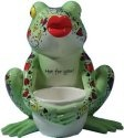 Fanciful Frogs 6345 Horny Toad Votive