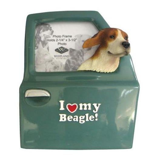 Special Sale 18901 Frame a Licious 18901 I Love My Beagle Ceramic Frame