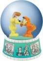 Garfield 15956 Garfield Comic Strip 85mm Waterglobe