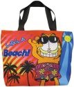 Garfield 15963 Life's A Beach Tote Bag
