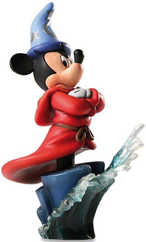 Disney Grand Jesters Studio 4020535 Sorcerer Mickey Bust 3000 Made