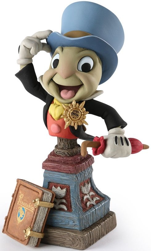 Disney Grand Jesters Studio 4024049 Jiminy Cricket Bust 3000 Made