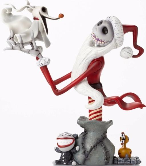 Disney Grand Jesters Studio 4050085 Bust Santa Jack with Zero