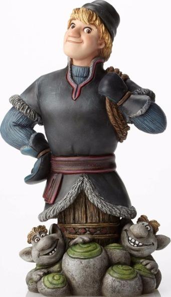 Disney Grand Jesters Studio 4050096 Kristoff & Trolls Figurine