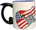 Guitar Mania 12033 Freedom Rocks Mug