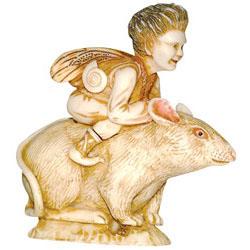 Bon Marche AQF17 Uzeme mouse fairy The Good Faerie