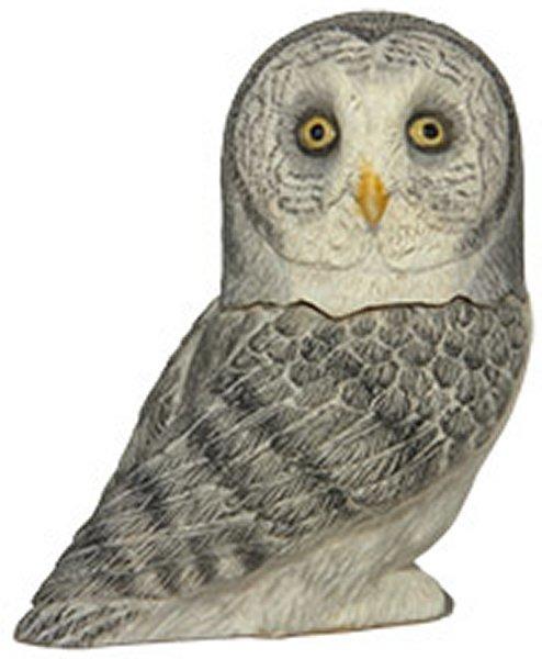Pot Bellys PBZOW14 Great Gray Owl