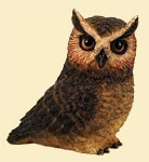 Pot Bellys PBZOW4 Great Horn Owl