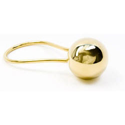 Chiming Spheres 1RTG Elongated Rattle in Gold