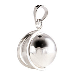 Chiming Spheres 20 Small Pendant With Crescent Clip