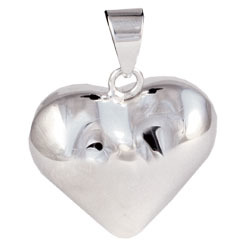Chiming Spheres HH Large Heart Pendant