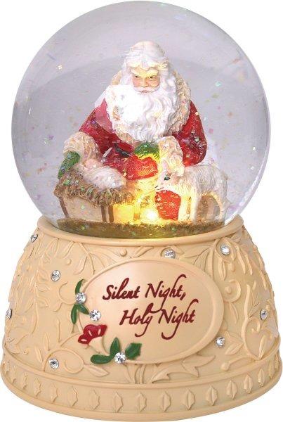 Heart of Christmas 6001401 Santa With Baby Jesus