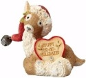 Heart of Christmas 4058273 Reindeer with Santa Hat