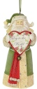 Heart of Christmas 6003917 Santa Ornament Joy to the World