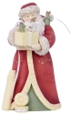 Heart of Christmas 6006521 Santa w- Mice Figurine