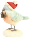 Heart of Christmas 6006533 Jingle Bell Bird Figurine