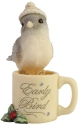 Heart of Christmas 6006534 Coffee Mug Bird Figurine
