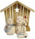 Heart of Christmas 6006537 Snowman Nativity Set Figurine