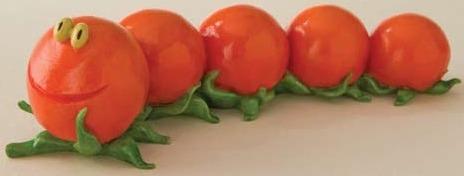 Home Grown 4011650 Tomato Caterpillar Figurine