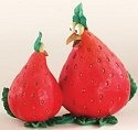 Home Grown 4008117 Strawberry Hen Figurine