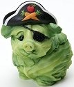 Home Grown 4017526 Cabbage Pig Pirate