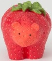 Home Grown 4040123 Strawberry Bear Figurine