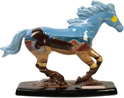 Horse of a Different Color 20331 Spirit of the Wind Figurine