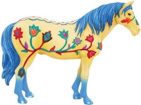 Horse of a Different Color 20509 Western Sunrise Mini Figurine